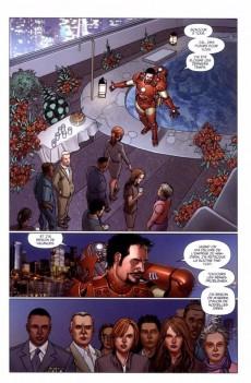 Extrait de Invincible Iron Man (The) (Marvel Deluxe) -6- Le futur