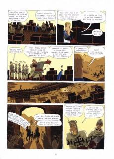 Extrait de Chevalier des sables -1- Le colosse de Jéricho