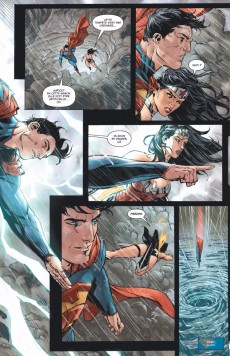 Extrait de Superman/Wonder Woman -1- Couple mythique