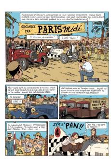Extrait de Louis Valmont (Les aventures de) -1- Le Piège des sables