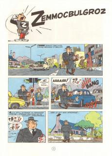 Extrait de Spirou et Fantasio -15d80- Z comme Zorglub