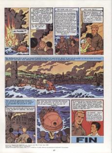 Extrait de Lefranc -2b1982- L'ouragan de feu