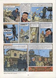 Extrait de Lefranc -3b1982- Le mystère Borg