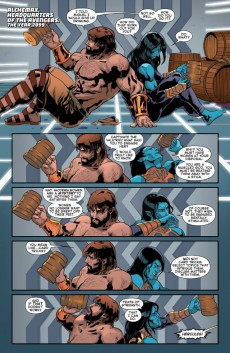 Extrait de Secret Wars 2099 (2015) -4- Issue #4