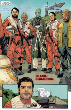 Extrait de Poe Dameron (2016) -1- Book I, Part I : Black Squadron