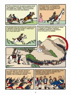 Extrait de L'histoire de France en BD (Joly/Heitz) -1048hBD- Napoléon... et l'Empire !