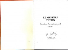Extrait de Tintin - Divers -TT- Le mystère tintin : les raisons d'un succès universel