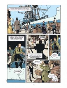 Extrait de La banque -5- Troisième génération 1882-1914 : Les Chéquards de Panama