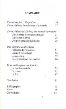 Extrait de Corto Maltese (Divers) - Lire et comprendre... Corto Maltese en Sibérie