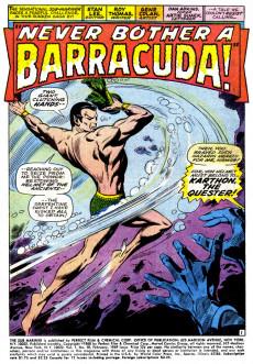 Extrait de Sub-Mariner Vol.1 (Marvel - 1968) -10- Never Bother A Barracuda!