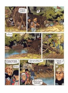 Extrait de Le grand fleuve -3a- L'île aux canes