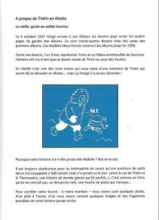 Extrait de Tintin - Pastiches, parodies & pirates - Tintin en Alaska et sur les pôles
