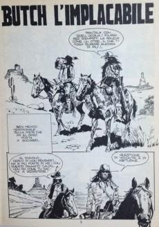 Extrait de Ken Parker (Collezione Serie Oro) -8- Butch l'implacabile - Uomini, bestie ed eroi