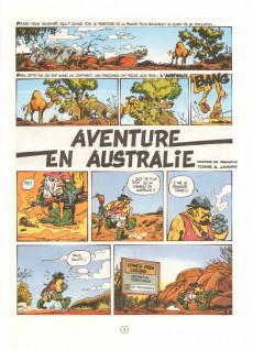 Extrait de Spirou et Fantasio -34- Aventure en Australie