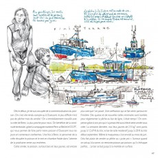 Extrait de (AUT) Roudeau - Brest à quai - [Carnet de bord] des travailleurs du port