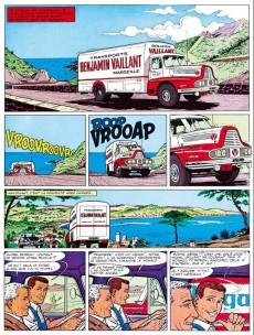 Extrait de Michel Vaillant (Dupuis) -4Pub Auto p- Route de nuit
