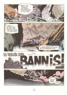 Extrait de Spirou et Fantasio -41- La vallée des bannis