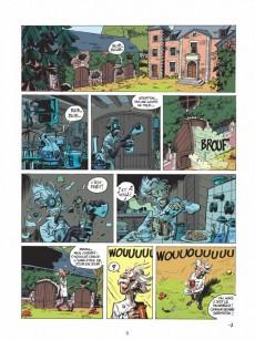 Extrait de Spirou et Fantasio -5- (Int. Dupuis 1) -18- Yoann et Velhmann