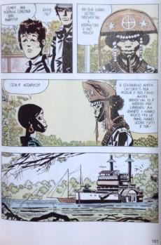 Extrait de Classici del Fumetto di Repubblica (I) - Serie Oro -6- Corto Maltese - Suite caribeana