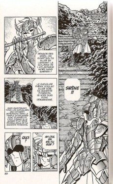 Extrait de Les chevaliers du Zodiaque (Kana) -17a- Le Chant d'Athéna
