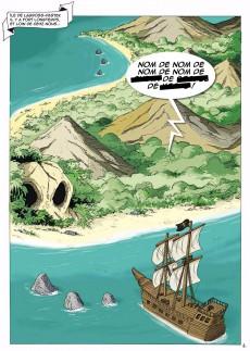 Extrait de Les rocambolesques aventures de Don Quenotte et Pedro Salsa -2- Un Trésor nommé Désir