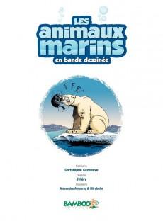 Extrait de Les animaux marins en bande dessinée -4- Tome 4