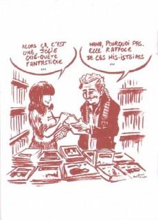Extrait de Lorsque -HS02- Lorsque je vais chez mon libraire...