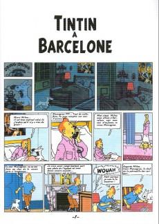 Extrait de Tintin - Pastiches, parodies & pirates -a- Tintin à Barcelone