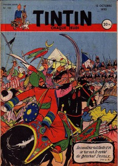 Extrait de (Recueil) Tintin (Album du journal - Édition française) -7- Tintin Album du journal