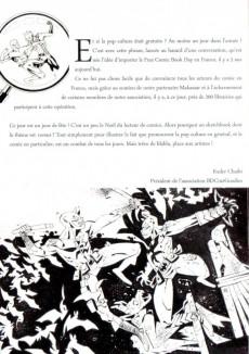 Extrait de Free Comic Book Day 2016 (France) - Sketchbook FCBD 2016