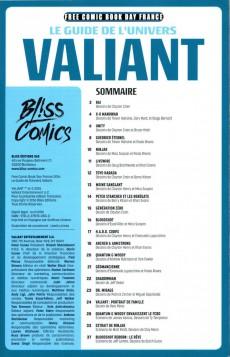 Extrait de Free Comic Book Day 2016 (France) - Valiant - Le Guide officiel