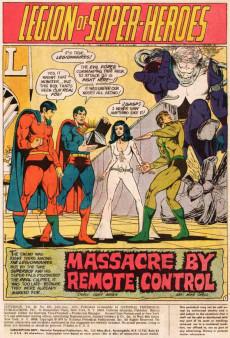 Extrait de Superboy (1949) -203- Légion of super-heroes. Massacre by remote control!