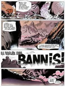 Extrait de Spirou et Fantasio -41a93a- La vallée des bannis