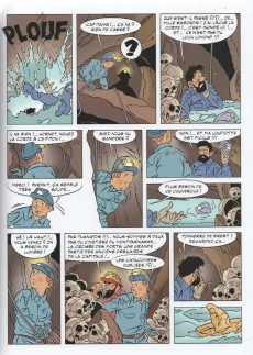 Extrait de Tintin - Pastiches, parodies & pirates - Tintin et les Égoutiers