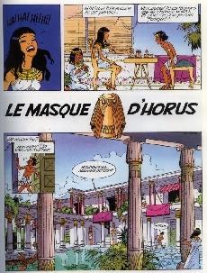 Extrait de Papyrus -26- Le masque d'Horus