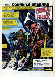 Extrait de Conan (Super) (Mon journal) -1+2- L'anneau de Rhax + La sorcière de Widnsor