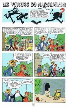 Extrait de Spirou et Fantasio -5h03- Les voleurs du marsupilami