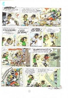 Extrait de Gaston -12- Le gang des gaffeurs
