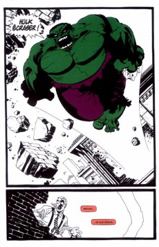 Extrait de Daredevil / Spider-Man / Hulk