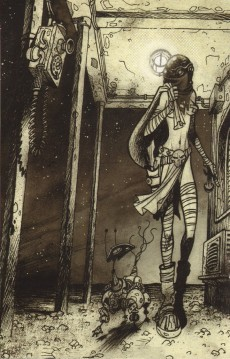 Extrait de Anita Bomba -Comics2- Cosmos infini, punaises de lit