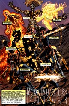 Extrait de New Mutants Forever (2010) -INT- New Mutants Forever