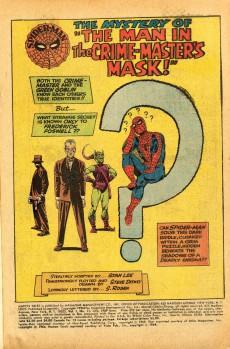 Extrait de Marvel Tales (Vol 2) -21- Crime-Master and the Green Goblin!