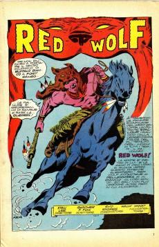 Extrait de Albi dei Super-Eroi (Gli) -10- RED WOLF: I Tamburi dicono Guerra