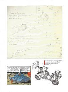 Extrait de Tintin (L'œuvre intégrale d'Hergé - Rombaldi) -8- Objectif lune-On amarché sur la lune-Quick et Flupke