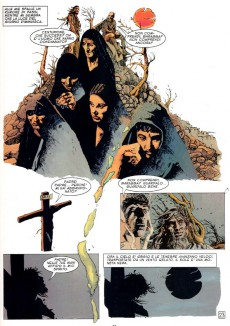 Extrait de Gilgamesh (Wood/Olivera) -2- Il Testimone