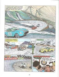 Extrait de Michel Vaillant (Dupuis) -8Pub Auto p- Le 8e pilote