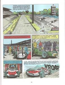 Extrait de Michel Vaillant (Dupuis) -11Pub Auto p- Suspense à Indianapolis