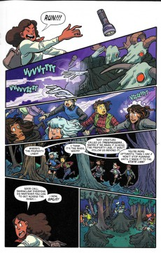 Extrait de Lumberjanes/Gotham Academy (2016) -1- Lumberjanes / Gotham Academy Part 1 of 6