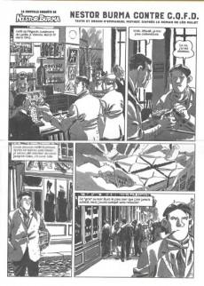 Extrait de Nestor Burma (Feuilleton) -4- Nestor Burma contre C.Q.F.D. - Numéro 1