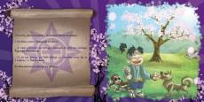 Extrait de Contes et Mythes Japonais -1- Momotarou